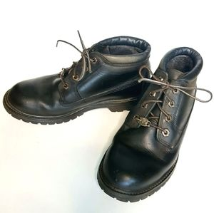 Timberland Black Leather Waterproof Boots